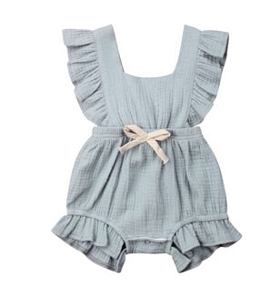 Mary Romper - Grey Green