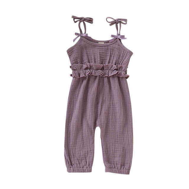 Hannah Jumpsuit - Purple