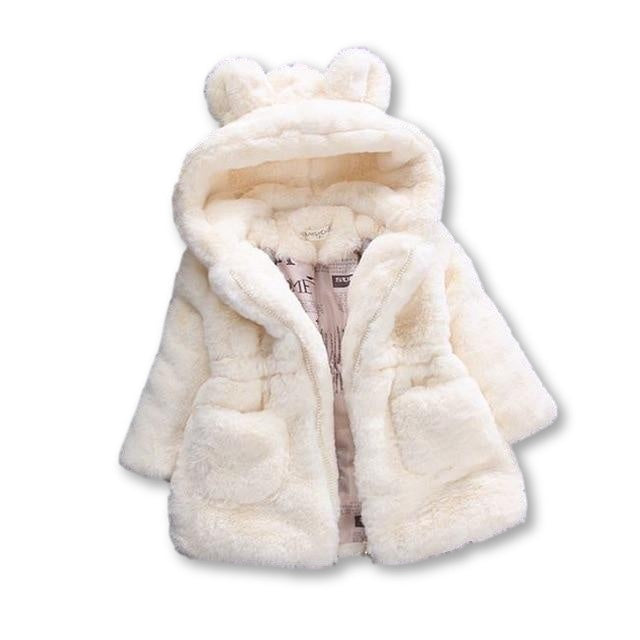 Deluxe Fluffy Coat - Cream