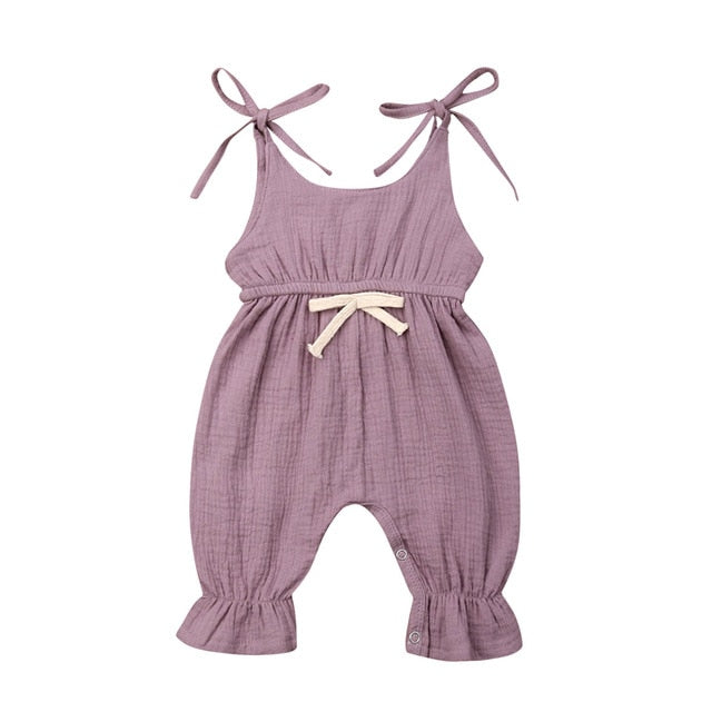 Sandra Jumpsuit - Purple