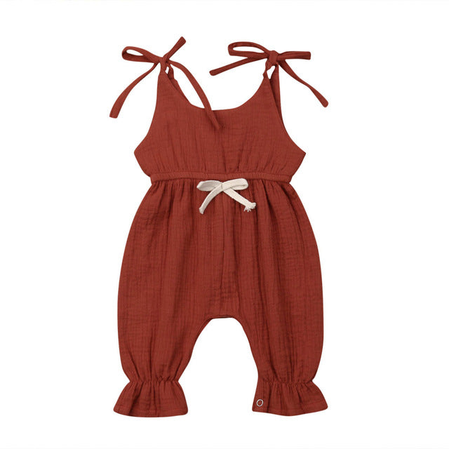 Sandra Jumpsuit - Burnt Orange