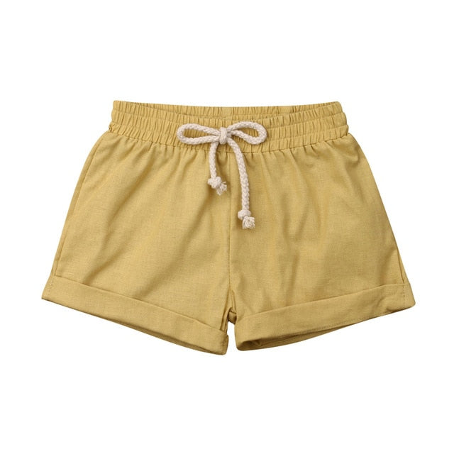 Basics Cotton Shorts - Khaki