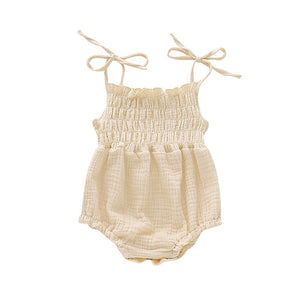 Catalina Romper - Cream