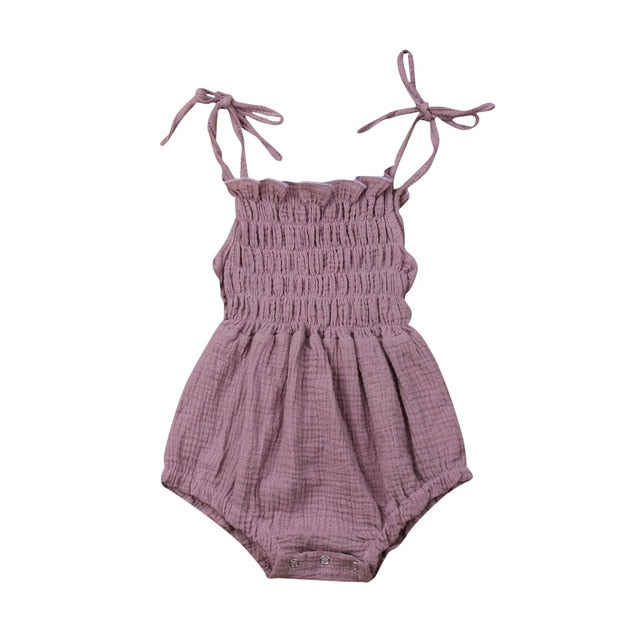 Catalina Romper - Purple