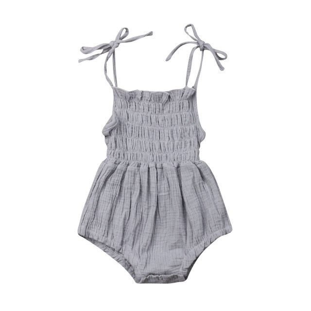 Catalina Romper - Grey