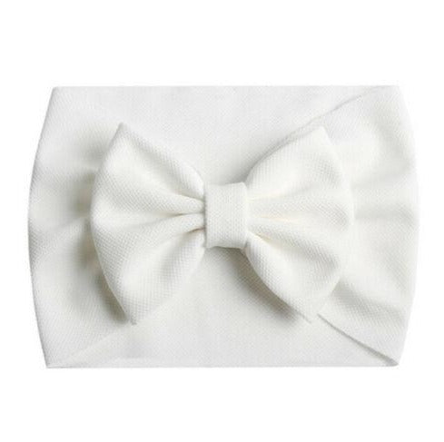 Evie Headband - White