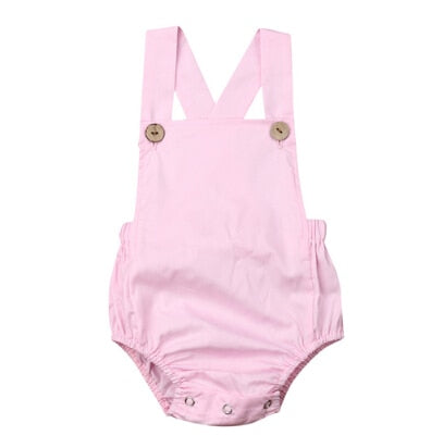 Basics Romper - Light Pink
