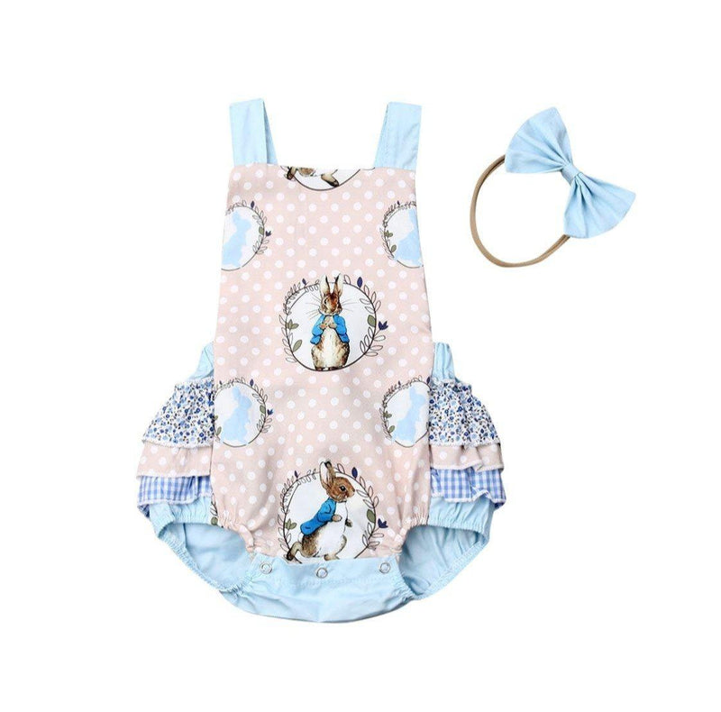 Peter Rabbit Ruffle Romper