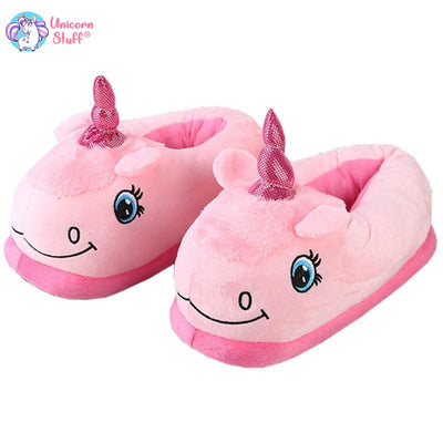 3d unicorn slippers