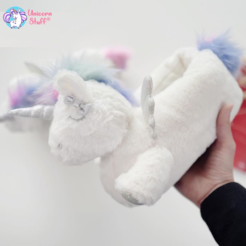 flying unicorn slippers