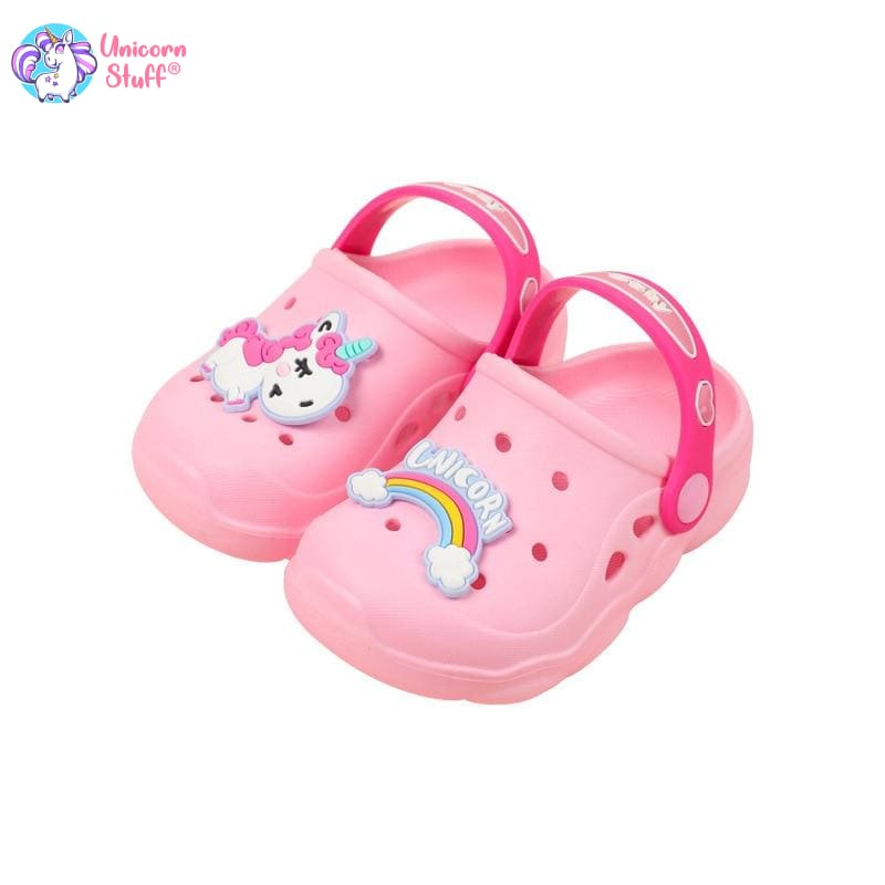 infant unicorn slippers