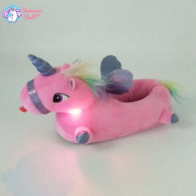 lighted unicorn slippers