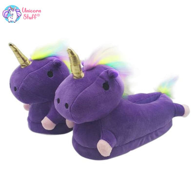 unicorn house slippers