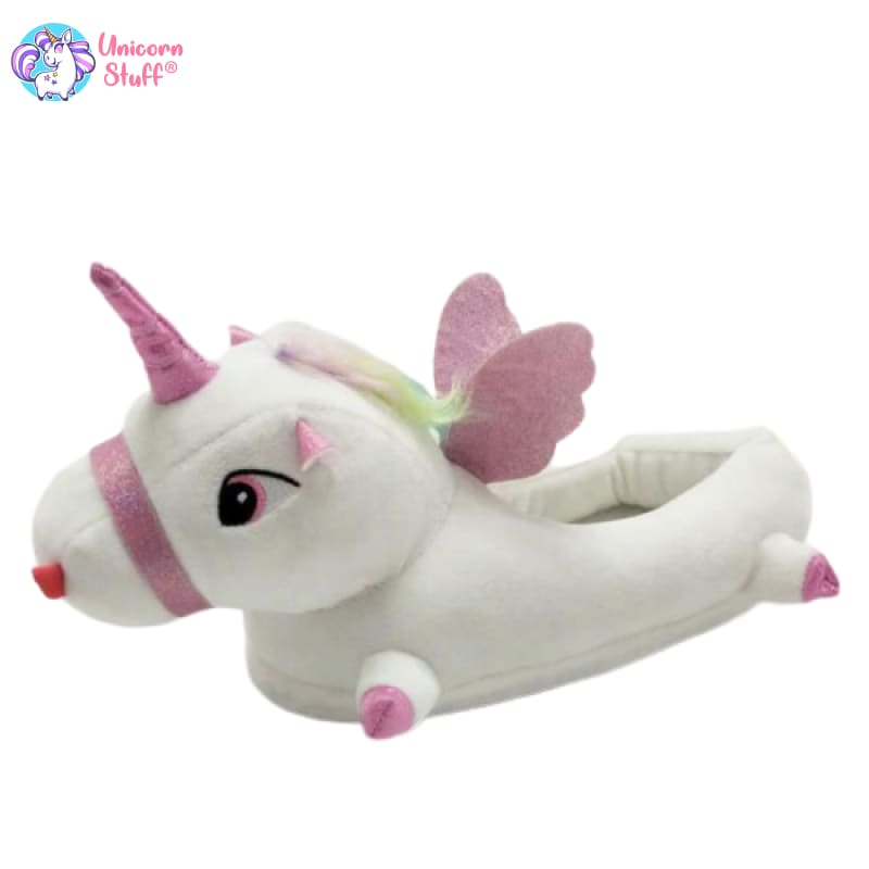 Unicorn House Slippers Womens