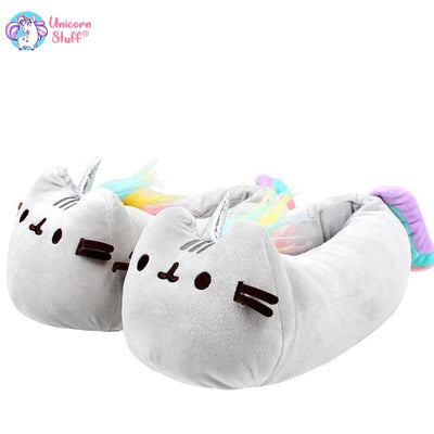 unicorn kitty slippers