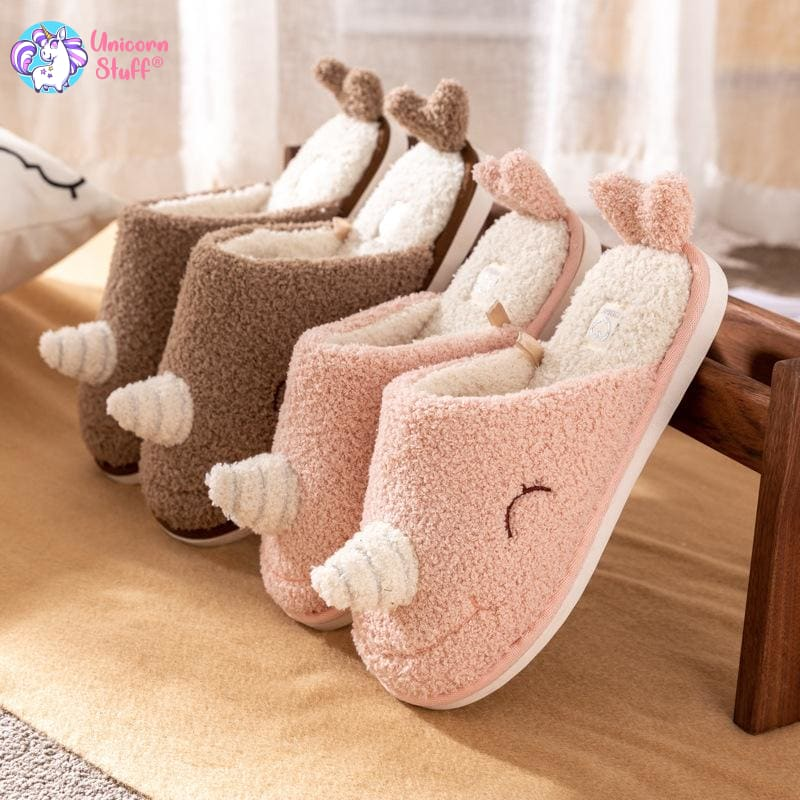 Unicorn Whale Slippers