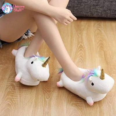 womens unicorn slippers