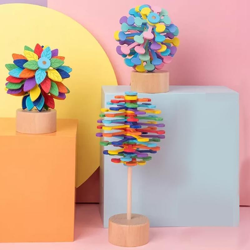 Wooden Kinetic Sculpture Stress Relief Toy