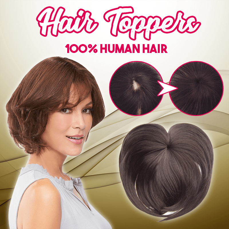 BUY 1 GET 1 FREE-Silky Clip-On Hair Topper