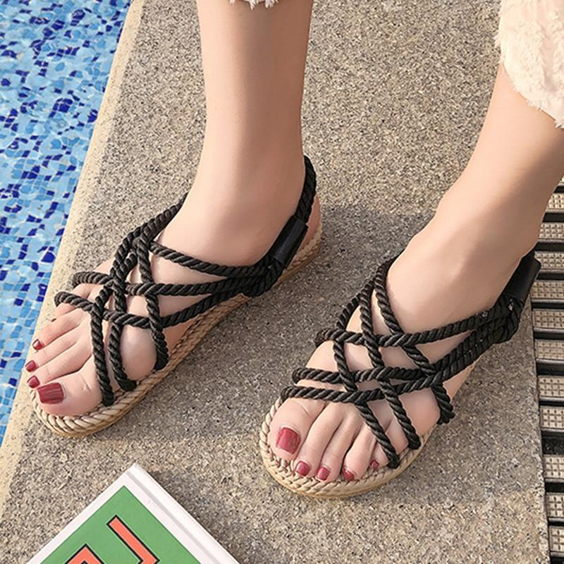 Premium Chunky Rope Sandals