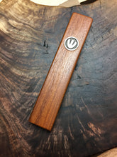 Load image into Gallery viewer, Ipe Wood & Sterling Silver Mezuzah