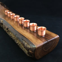 Load image into Gallery viewer, Menorah (Walnut)