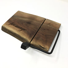 Load image into Gallery viewer, Cheese Slicer (Live Edge Walnut)