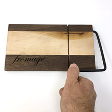 Load image into Gallery viewer, Cheese Slicer (Walnut & Maple)