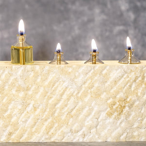 Hanukkah Menorah (Jerusalem Stone, limited addition)