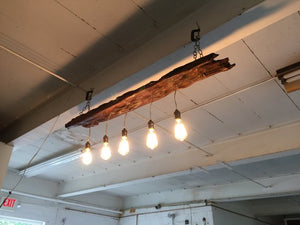Driftwood Light Fixture