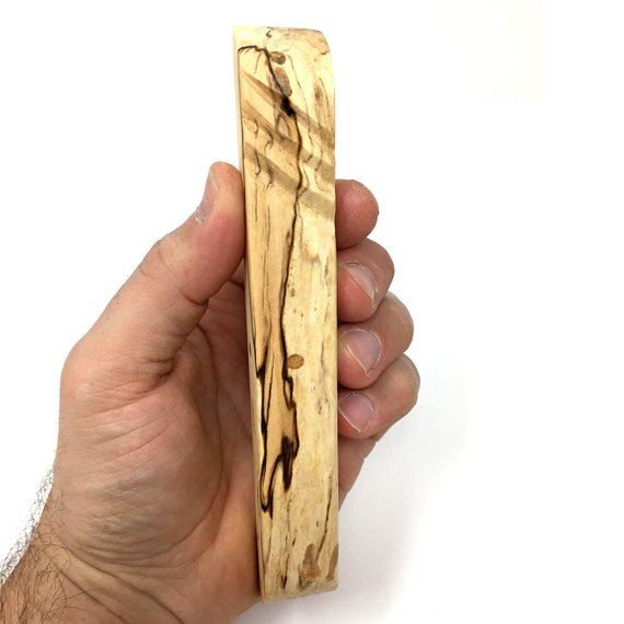 Spalted Maple Mezuzah Case #1