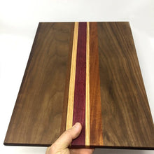 Load image into Gallery viewer, Striped Wooden Cutting Board, Made to Order