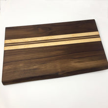 Load image into Gallery viewer, Thin Striped Wooden Cutting Board