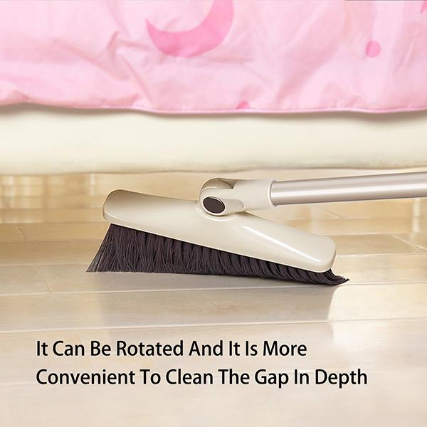 (Last Day Promotion 60% OFF) Windproof Broom and Dustpan Set Upright with Long Handle Great for Sweeping Kitchen,Office, House, Outdoors