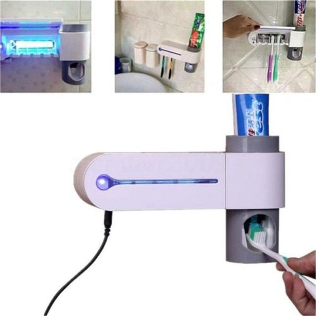 (Limited time 80% off ) The Ultimate Multifunctional Toothbrush Sterilizer- FREE SHIPPING