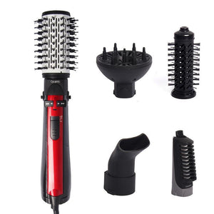 50% OFF! 2 in 1 Ceramic Hair Dryer Rotating Curling Iron Brush