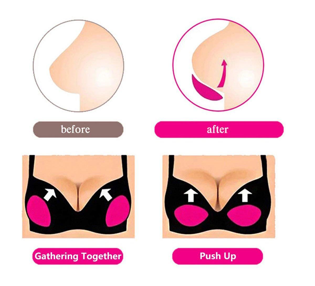 Push Up Breast Enhancers - buy two free shipping