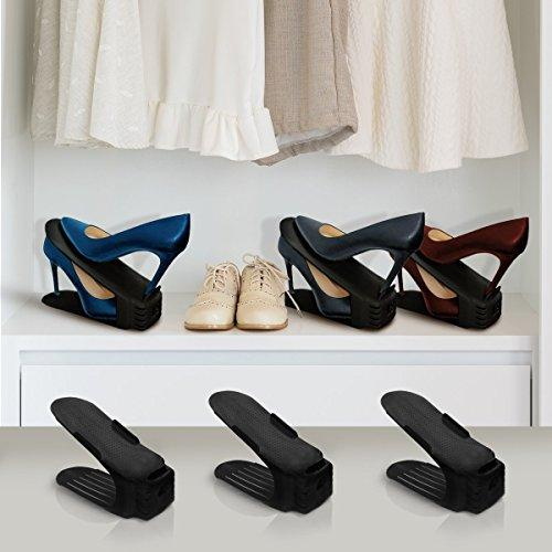 Shoe Slots Organizer,Double Desk Shoes Holder