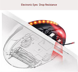 Copy of Robot Vacuum Cleaner Floor Cleaner LCD Display 1200pa Suction Slim Body  EU Plug (red)
