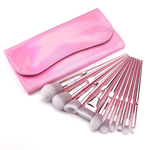 Rose Gold Makeup Brushes Kit
