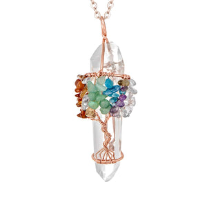 Crystal Necklace Jewelry