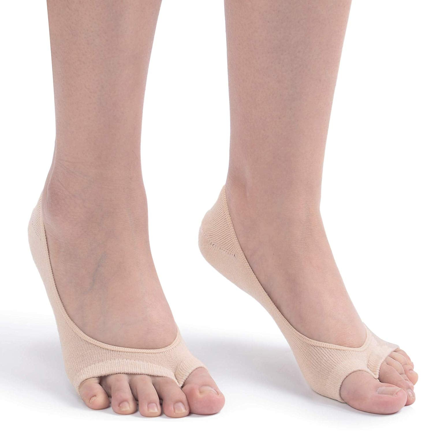Women's 3/6 Pairs Peep Toe Liner Socks 【70% OFF LIMITED TIME】
