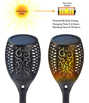 Solar Torch Light, 4 Packs💥50% Off💥
