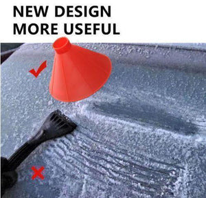 Cone-shaped Ice Removal Tool