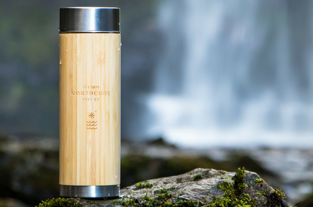 Wooden Thermos