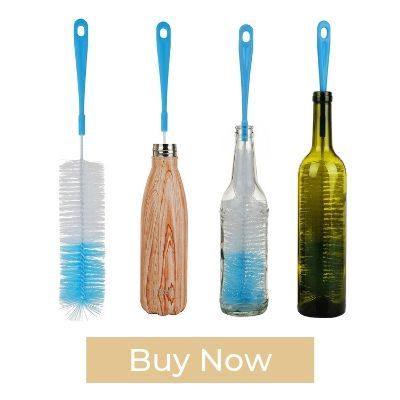 "ALINK 17"" Extra Long Bottle Cleaning Brush"