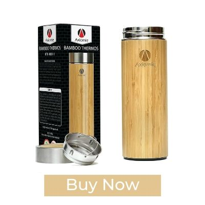 AXIOMIE Wooden Thermos