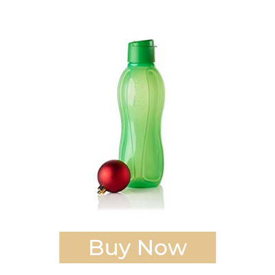 Eco Water Bottle Tupperware Green