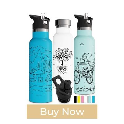 Involve & Evolve Cool Water Bottle