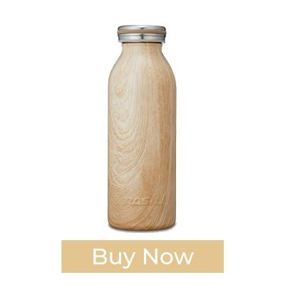 MOSH! Wood Texture Thermos Bottle